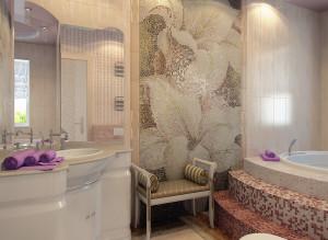 Идеи дизайна ванной комнаты совмещенной с санузлом фото идеи