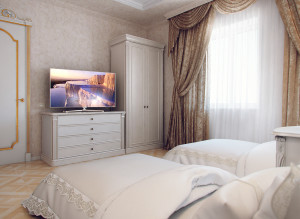 Стильный дизайн спальни в квартире