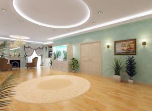 Идеи дизайна современной большой гостиной