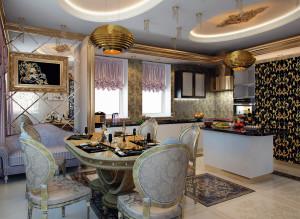 Дизайн стильной кухни фото идеи