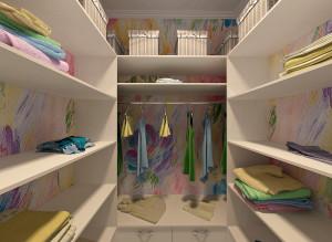 Дизайн детской гардеробной для девочки