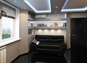 Дизайн современного кабинета в квартире