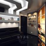 Дизайн стильного кабинета в квартире