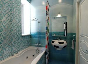 Дизайн ванной комнаты для мальчика фото
