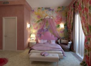 Дизайн детская комната для девочки